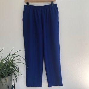 BonWorth Blue Pants Trousers Petite Large Short